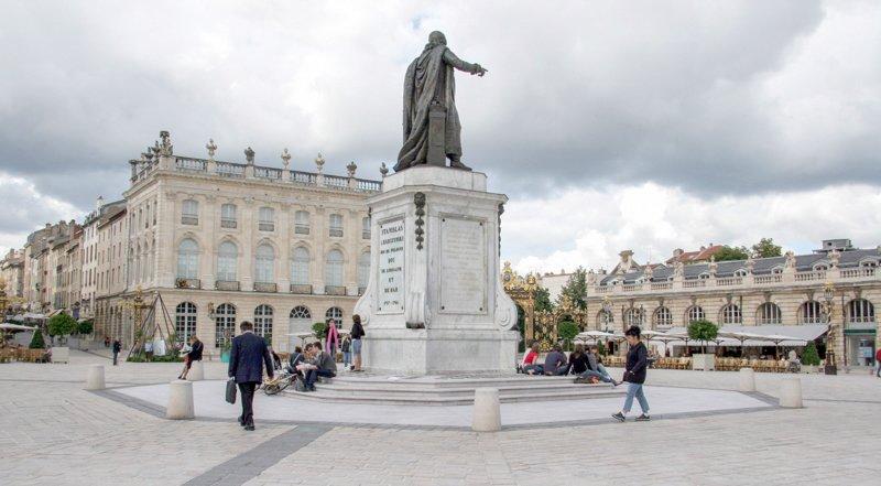 Nancy pomnik Stanisława Leszczyńskiego