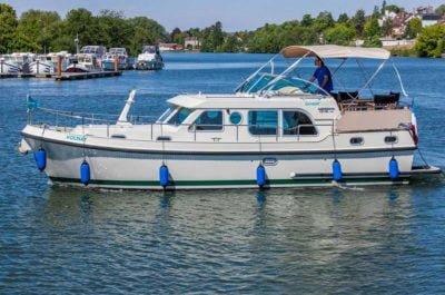 hausboat Linssen profil