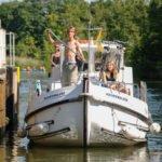 Meklemburgia wakacje na barce w śluzie