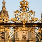 Lotarygnia Nancy pałac plac Stanisława wakacje na barce