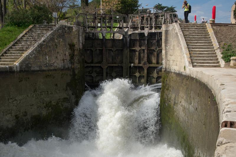 śluza Canal du Midi