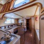 kuchnia na barce Penichette 1500 FB