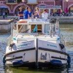 barka Penichette 1500 FB od strony dziobu