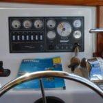 Penichette 1500 FB - stanowisko skippera