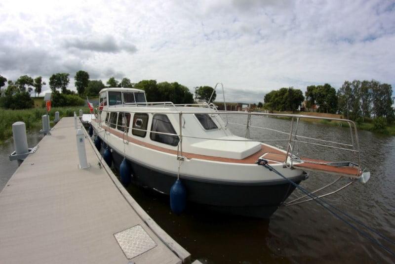 Barka River Cruiser przy kei