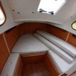 kabina dziobowa na barce River Cruiser 39