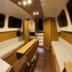 mesa na barce River Cruiser 39