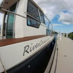 River Cruiser 39 przy kei