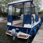 Vistula Cruiser 30 IC - od strony rufy