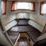 Vistula Cruiser 30 IC - kabina dziobowa