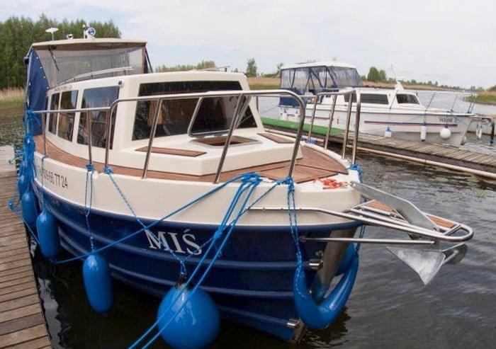 Vistula Cruiser 30 IC - widok od dziobu