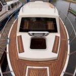 Vistula Cruiser 30 IC - widok z dziobu