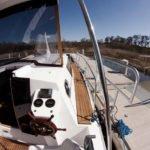 Weekend 820 VB IC - stanowisko sternika