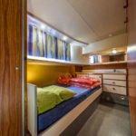 kabina na barce Penichette 1260R