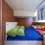 Penichette 1260R - podwójne łóżko