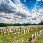 Cmentarz w Verdun Ardeny wakacje na barce