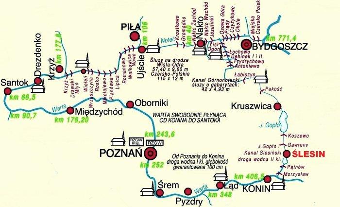 Wielka Pętla Wielkopolski - mapa