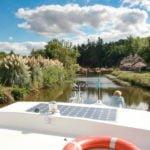 Bretania śluza wakacje na barce