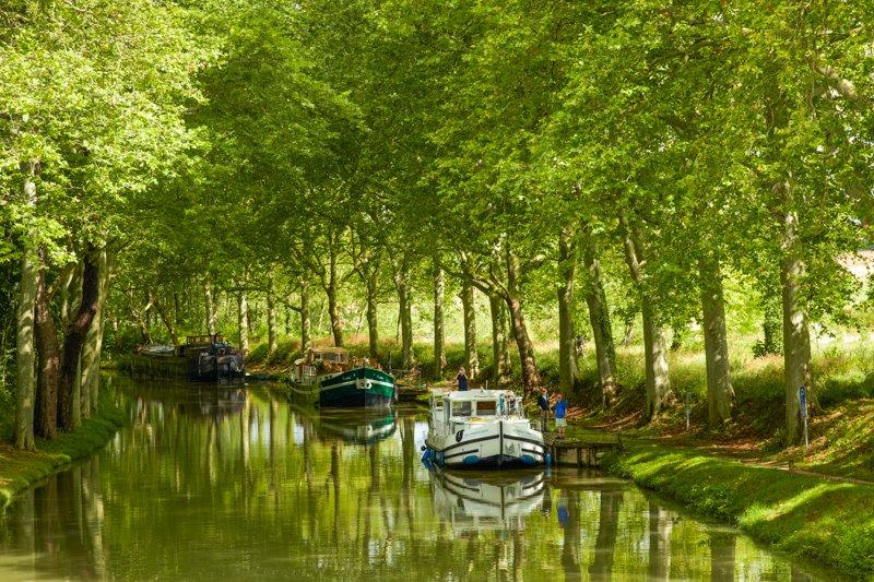 Cumowanie na Canal du Midi