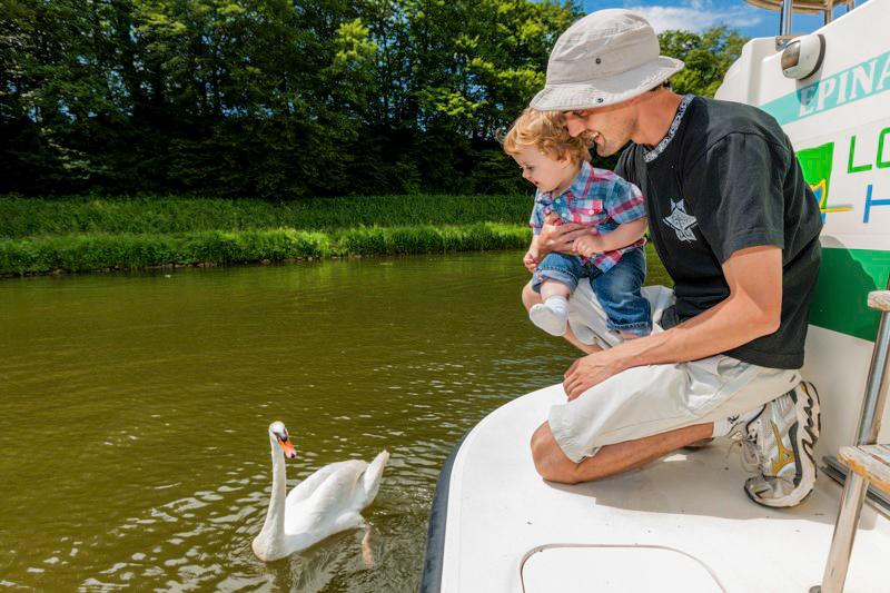 Wakacje na barce kontakt z naturą