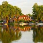 Rzeka Amstel Holandia