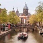 Holandia wakacje na barce Amsterdam