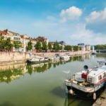 Ardeny Kanał Verdę wakacje na barce