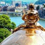 Namur Belgia Ardeny wakacje na barce