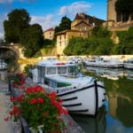 Rzeka Baise Nerac Gaskonia - wakacje na barce