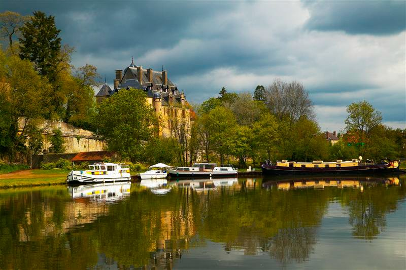 Burgundia Kanał Nivernais Bazois