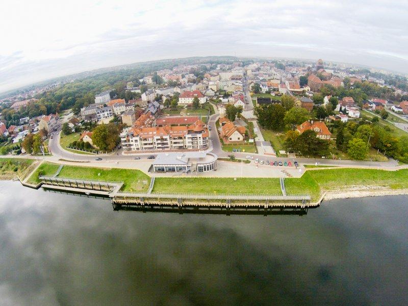 Tczew port na Wiśle