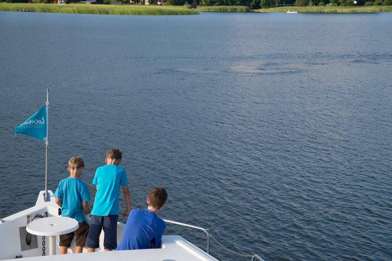 Wakacje na barce Meklemburgia
