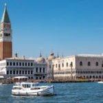 Laguna Wenecka wakacje na barce Wenecja plac św. Marka