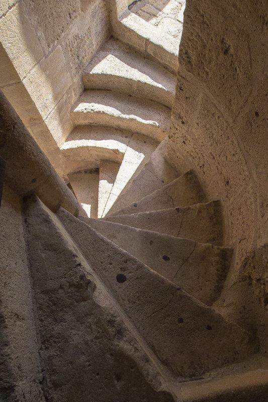 Aigues-Mortes Francja region Camargue w drodze na wieżę