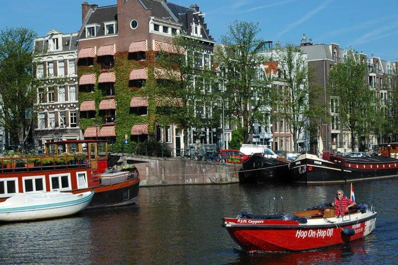 Amsterdam Holandia wakacje na barce