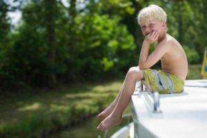 Dzieci na barce
