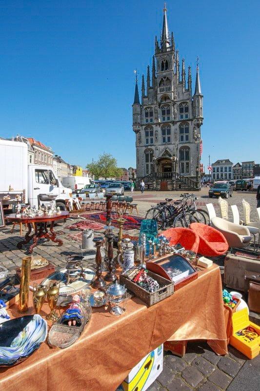Gouda Holandia wakacje na barce
