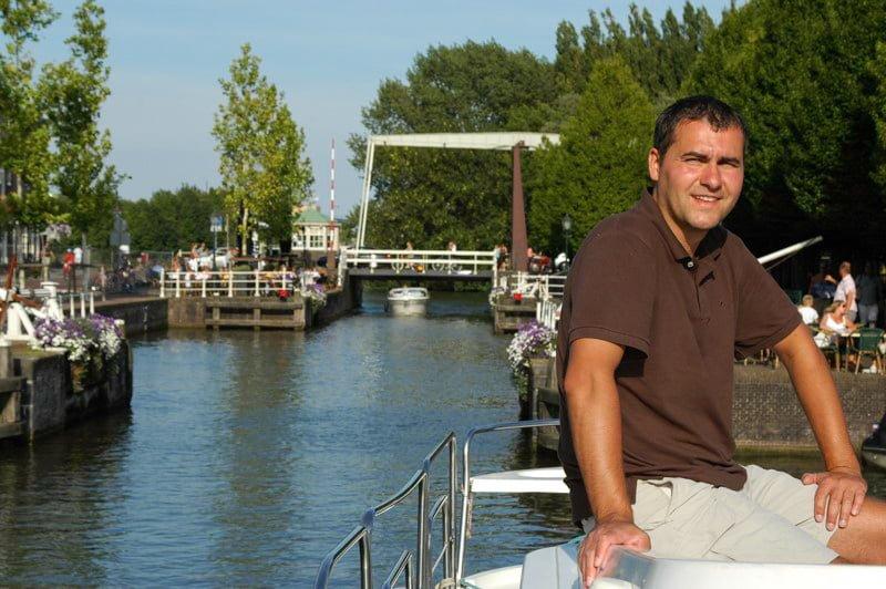 Na rzece Vecht Holandia wakacje na barce