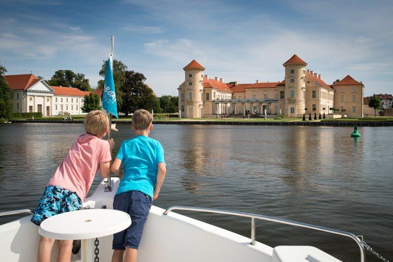 Pałac Rheinsberg Meklemburgia