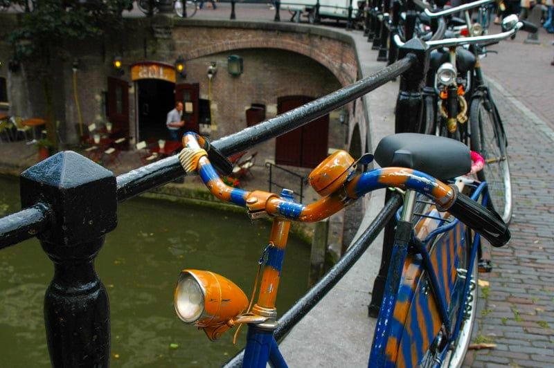 Utrecht Holandia kanał wakacje na barce