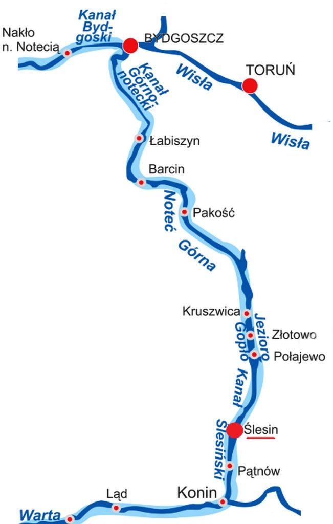 Wielka Pętla Wielkopolski - trasa