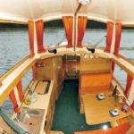 wnętrze barki Haber 20