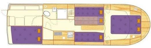 Haber 33 - plan wnętrza