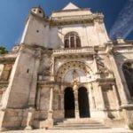 Tonnerre kościół Burgundia wakacje na barce