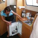 lodówka na barce Vistula Cruiser