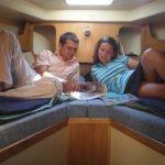 kabina dziobowa Vistula Cruiser 30