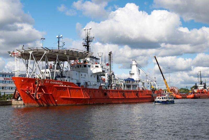 W drodze do Gdańska wkacje na barce