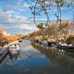 Port w Beziers Canal du Midi wakacje na barce