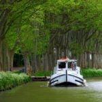 Canal du Midi barka kanał wakacje