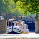 Canal du Midi śluza wakacje na barce Argens